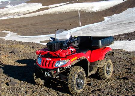 Arctic Caty z Česka pomáhají výzkumníkům v Antarktidě