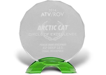 """Ocenění """"Circle Of Excellence Award"""""""