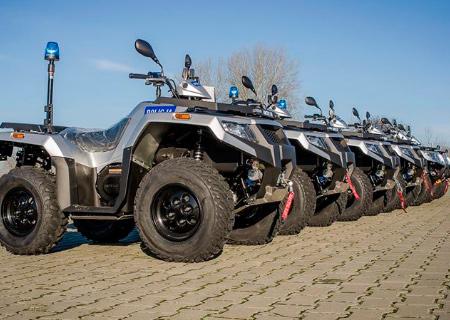 Alterra 450 pro polskou policii