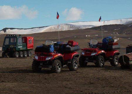 Arctic Caty pomáhají výzkumníkům v Antarktidě